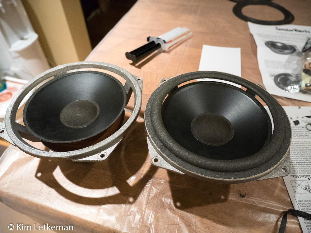 Nothing Special: Fix your worn out bookshelf speakers